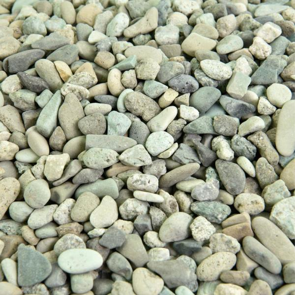 25 cu. ft. 3/8 in. to 5/8 in. Natural Polynesian Green Landscape Rock for Gardens, Landscaping and Walkways