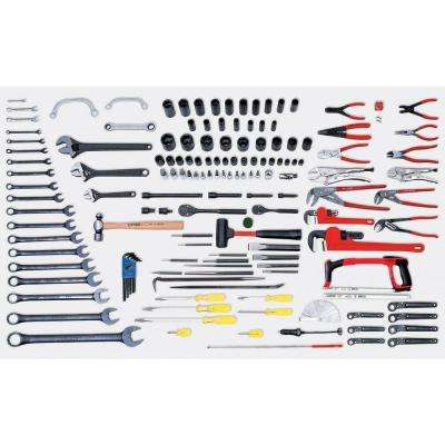 Mechanical Maintenance Set with Metal Box (137-Piece)