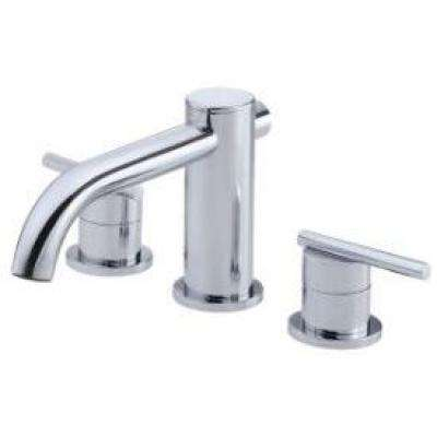 Parma 2-Handle Deck-Mount Roman Tub without Personal Spray Trim in Chrome (Valve Not Included)