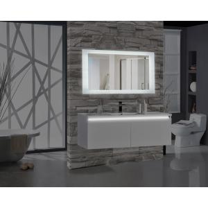Encore 60 inch W x 27 inch H Rectangular LED Illuminated Bathroom Mirror by