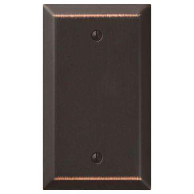 Century 1 Blank Wall Plate - Oil-Rubbed Bronze