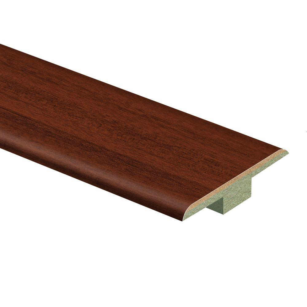 Zamma Brazilian Cherry 7 16 In Thick X 1 3 4 In Wide X 72 In Length Laminate T Molding 013221647 The Home Depot