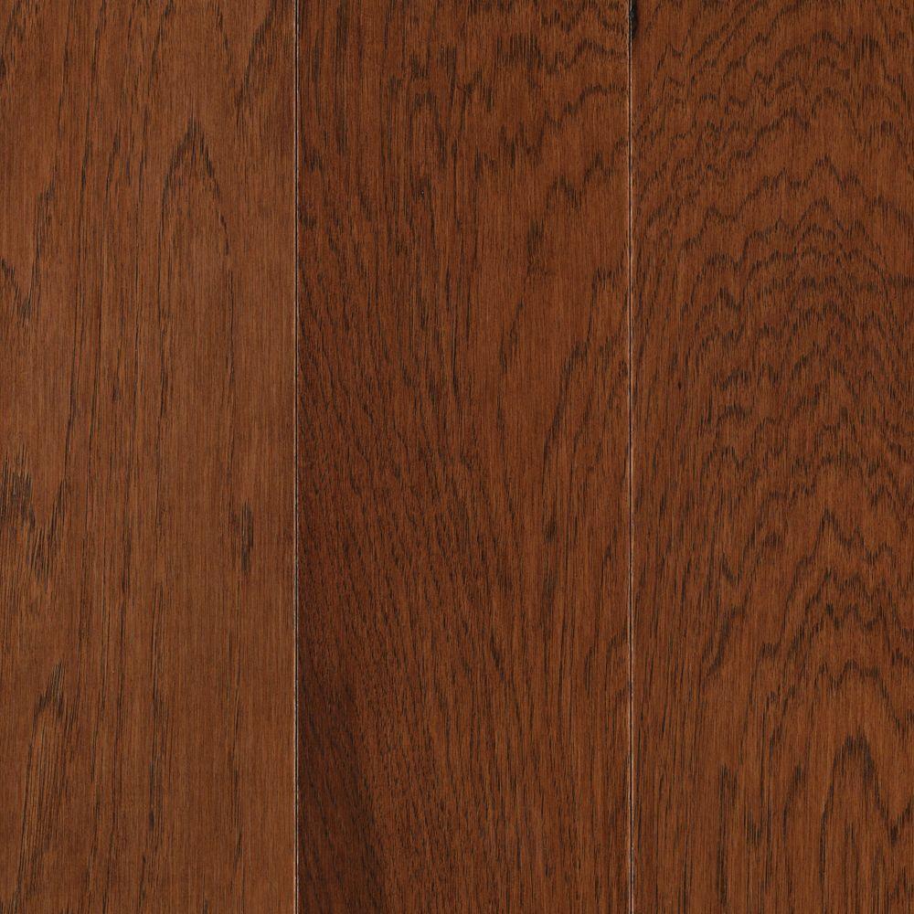 Pristine Hickory Warm Cherry Engineered Hardwood Flooring - 5 in. x 7 in. Take Home Sample