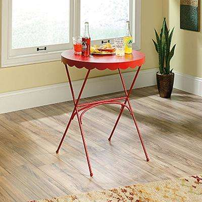 Viabella Collection Red Bistro Table