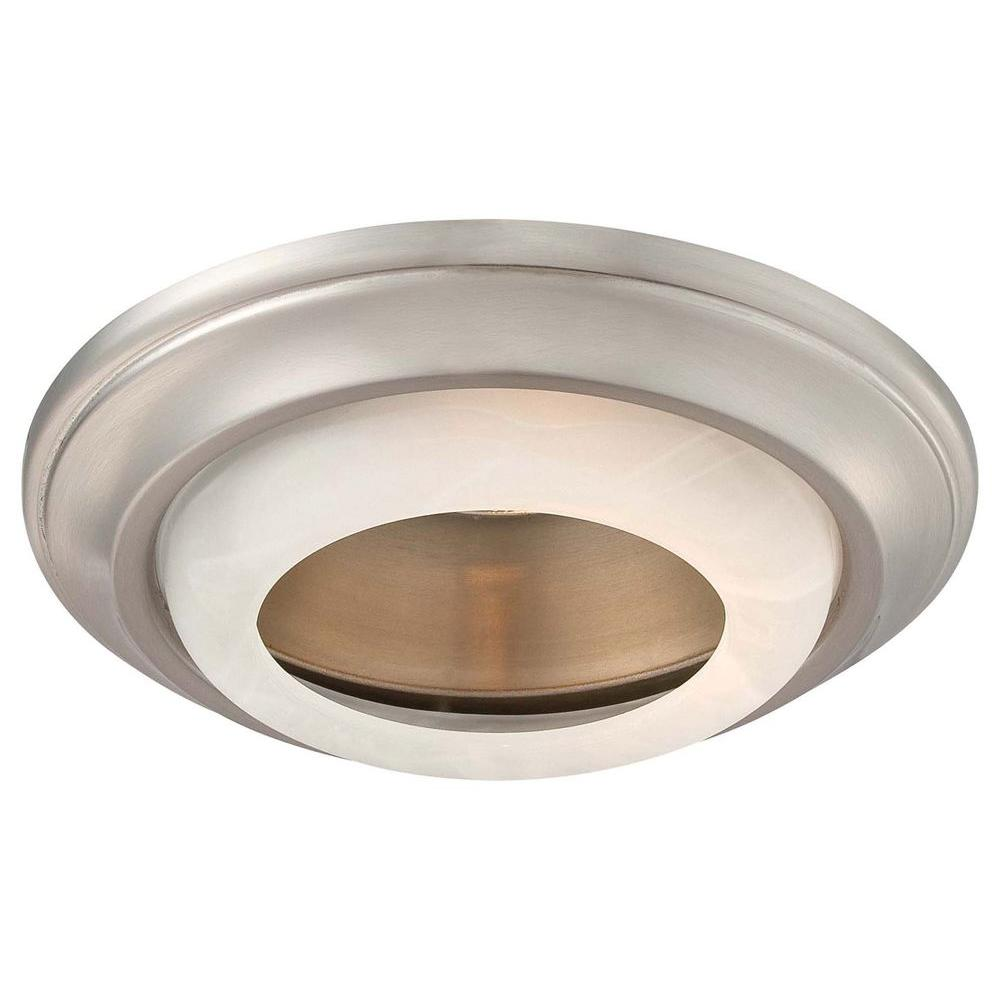 Minka Lavery 6 in. Brushed Nickel Recessed Can Trim