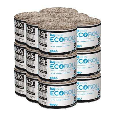 R-30 Unfaced Fiberglass Insulation Roll 15 in. x 22 ft. (18-Rolls)