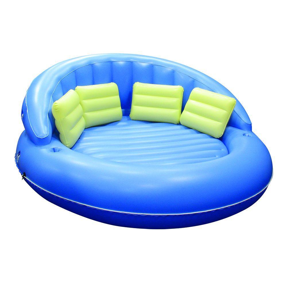 Poolmaster Giant Cuddle Island Pool Float-DISCONTINUED