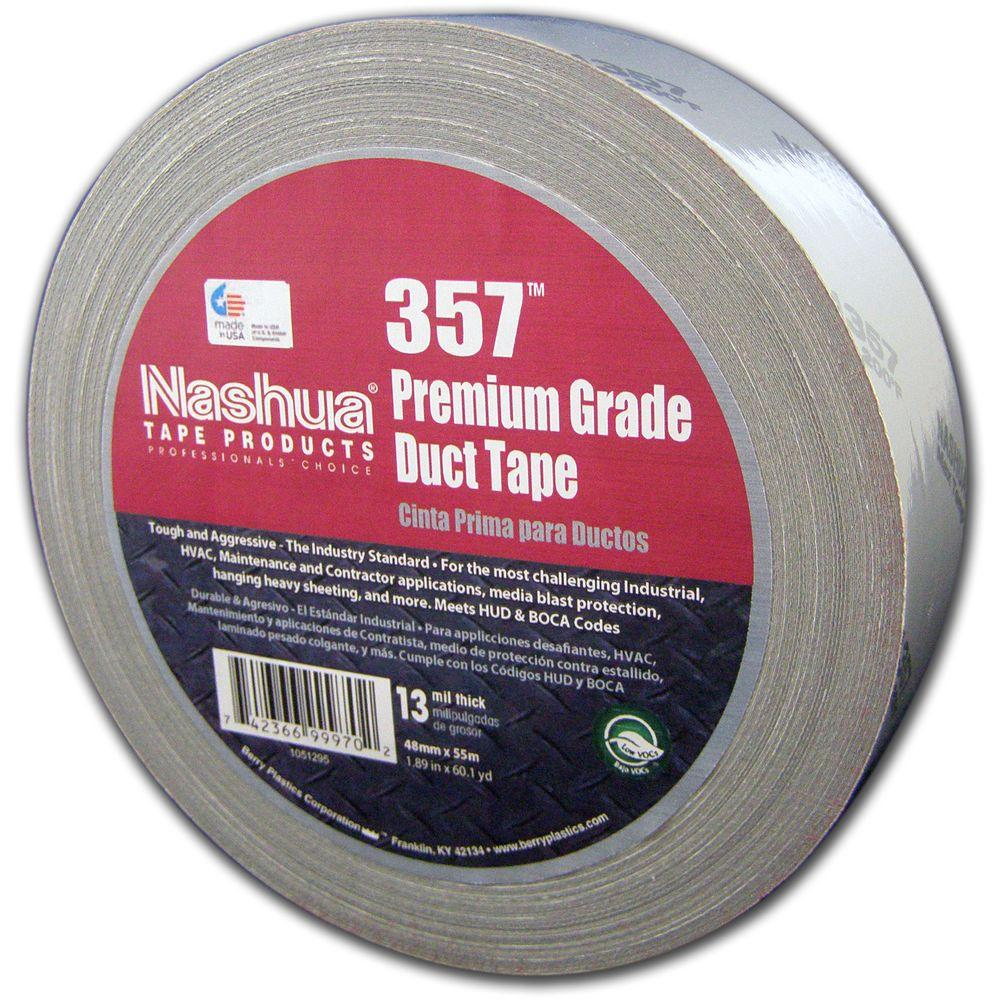 Nashua Tape 1.89 in. x 60.1 yds. 357 Ultra-Premium Duct Tape