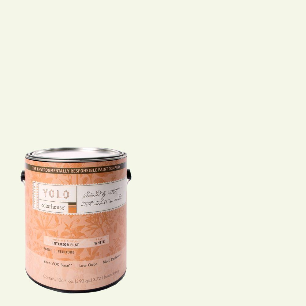 YOLO Colorhouse 1-gal. Imagine .03 Flat Interior Paint-DISCONTINUED