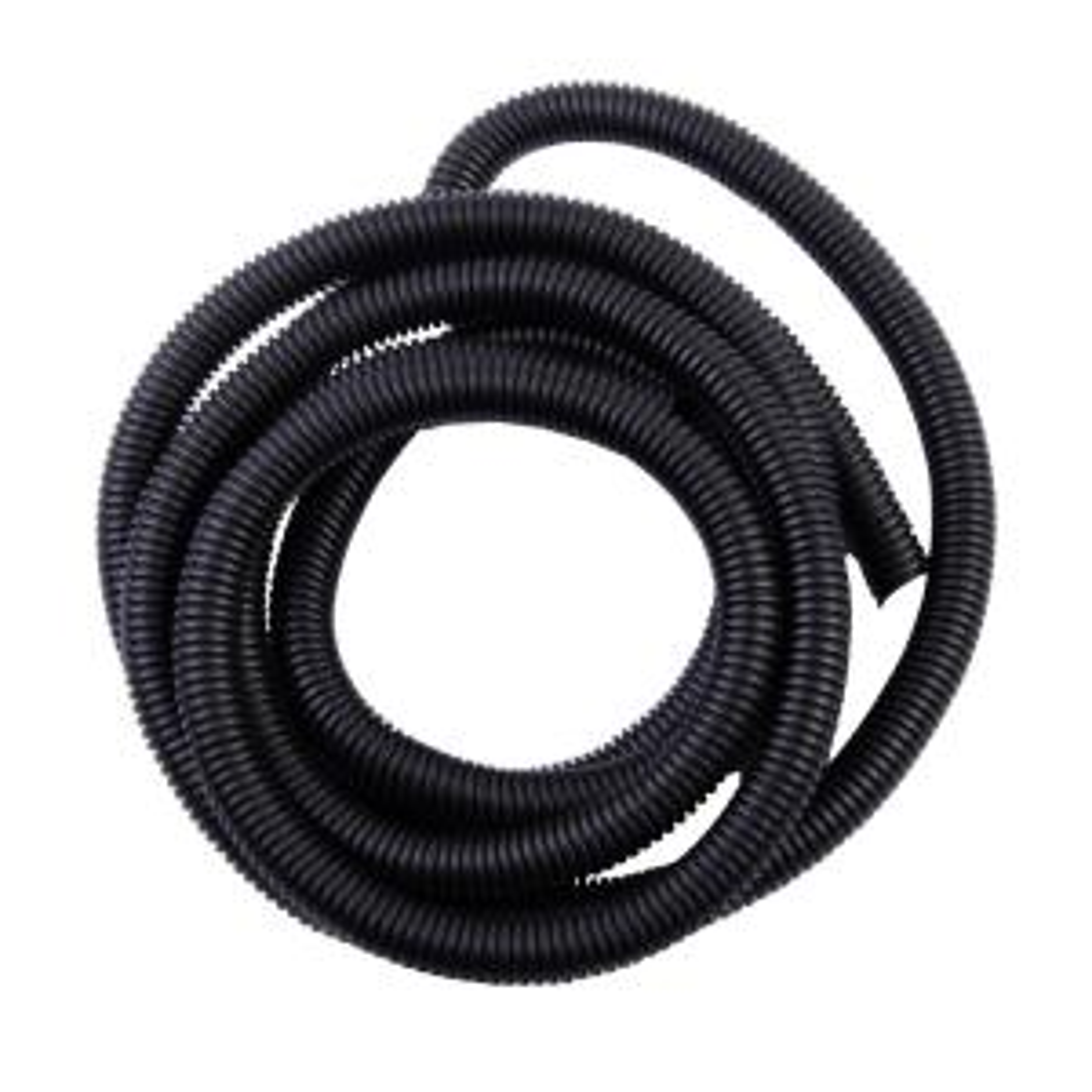 3//8 Split Wire Loom Tubing Polyethylene White - 50FT