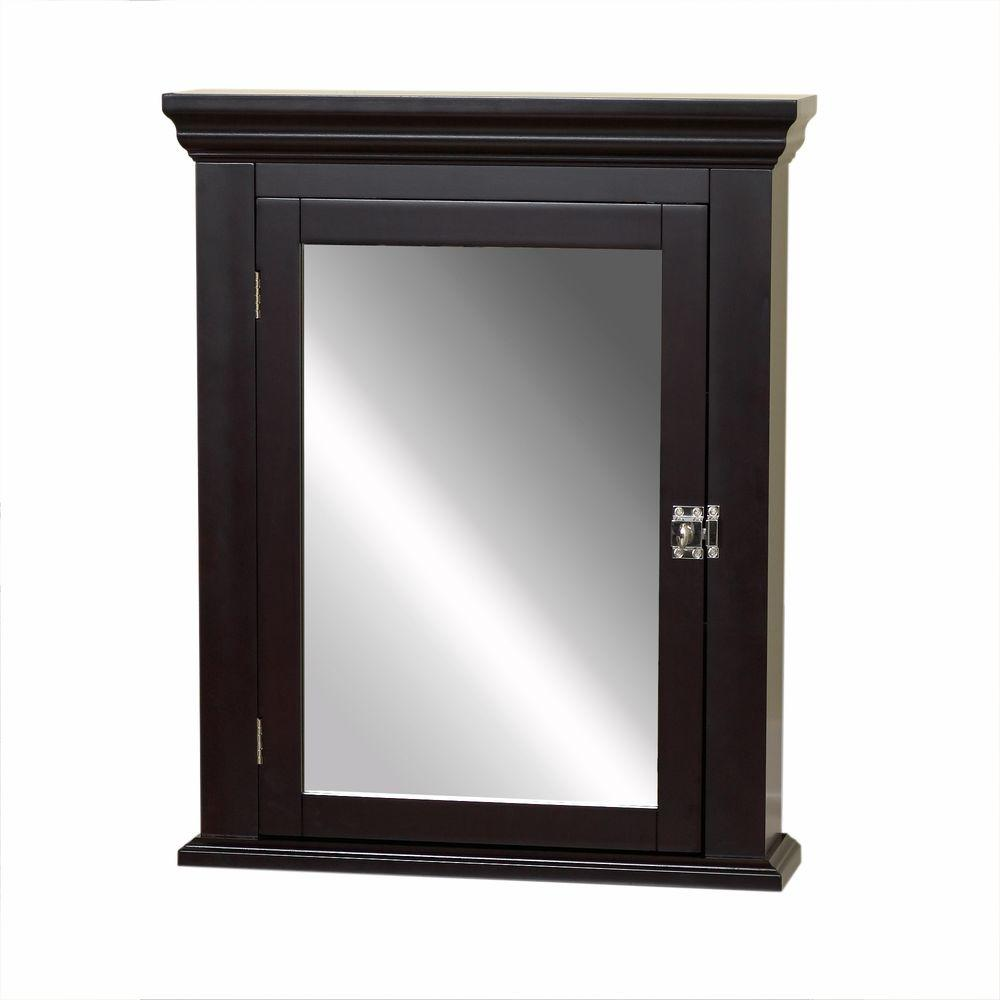 Zenith Bathroom Cabinets: Zenith Early American 22.25 In. W X 27.25 In. H X 5.75 In