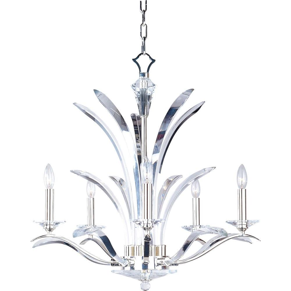 Maxim lighting paradise 5 light plated silver chandelier 39948bcps maxim lighting paradise 5 light plated silver chandelier mozeypictures Choice Image