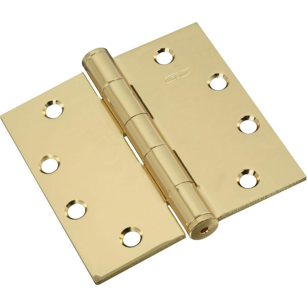 Stanley-National Hardware 4-1/2 in. Template Hinge