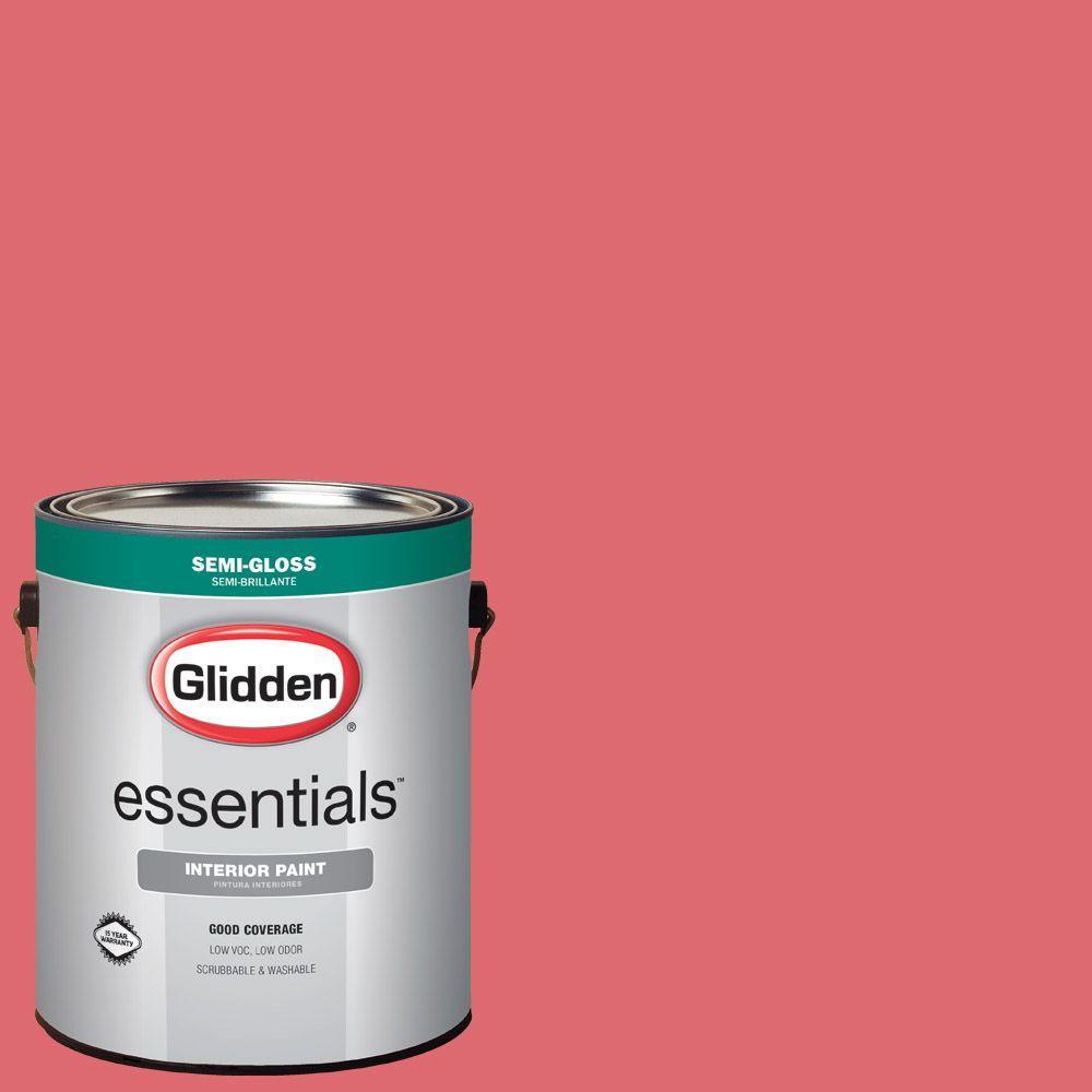 Hdgr41 Pink Salmon Semi Gloss Interior Paint
