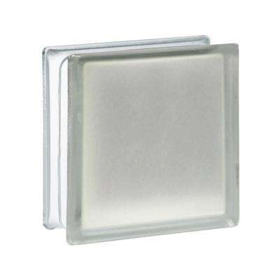 5.75 in. x 5.75 in. x 3.12 in. Frosted Pattern Glass Block (10-Pack)