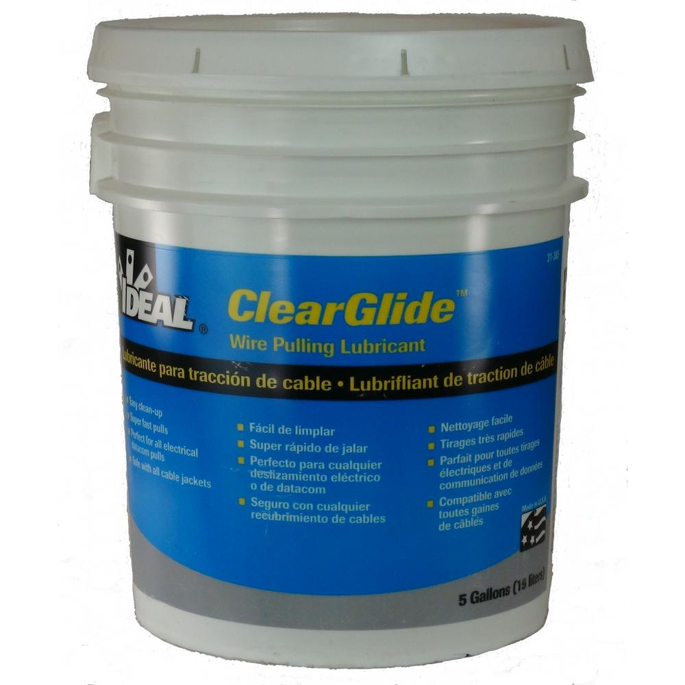 Ideal 5 Gal. ClearGlide Wire Pulling Lubricant Bucket-31-385 - The ...