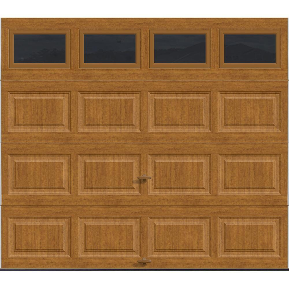 Clopay classic collection 8 ft x 7 ft 18 4 r value for Best r value windows
