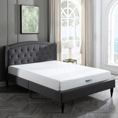Cool Top 8in. Medium Gel Memory Foam Tight Top Queen Short Mattress