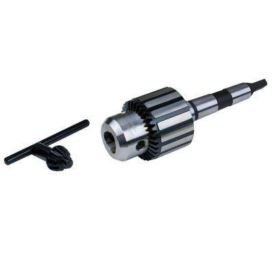 1/32 in. to 1/2 in. Dia x 1/2 in. - 20 Taper Mount Keyed Drill Chuck