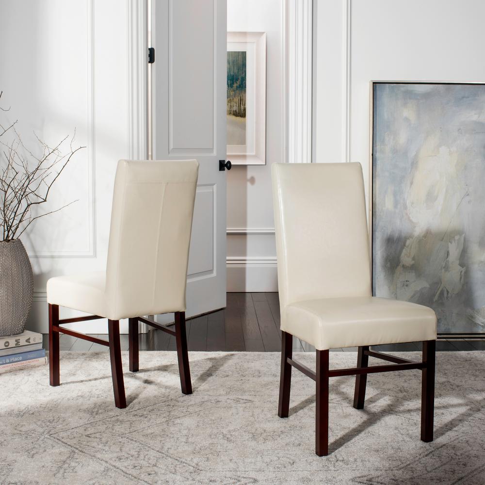Flat Cream Dining Chair (Set of 2)