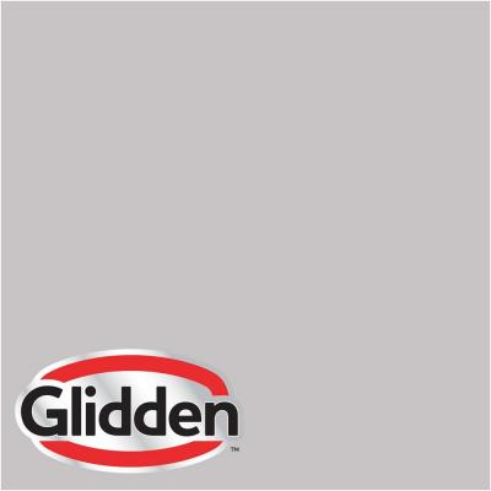 Glidden Premium 5 gal. #HDGCN57 Urban Grey Satin Interior Paint with Primer