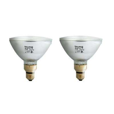 90-Watt PAR38 Halogen Indoor/Outdoor Flood Light Bulb (2-Pack)