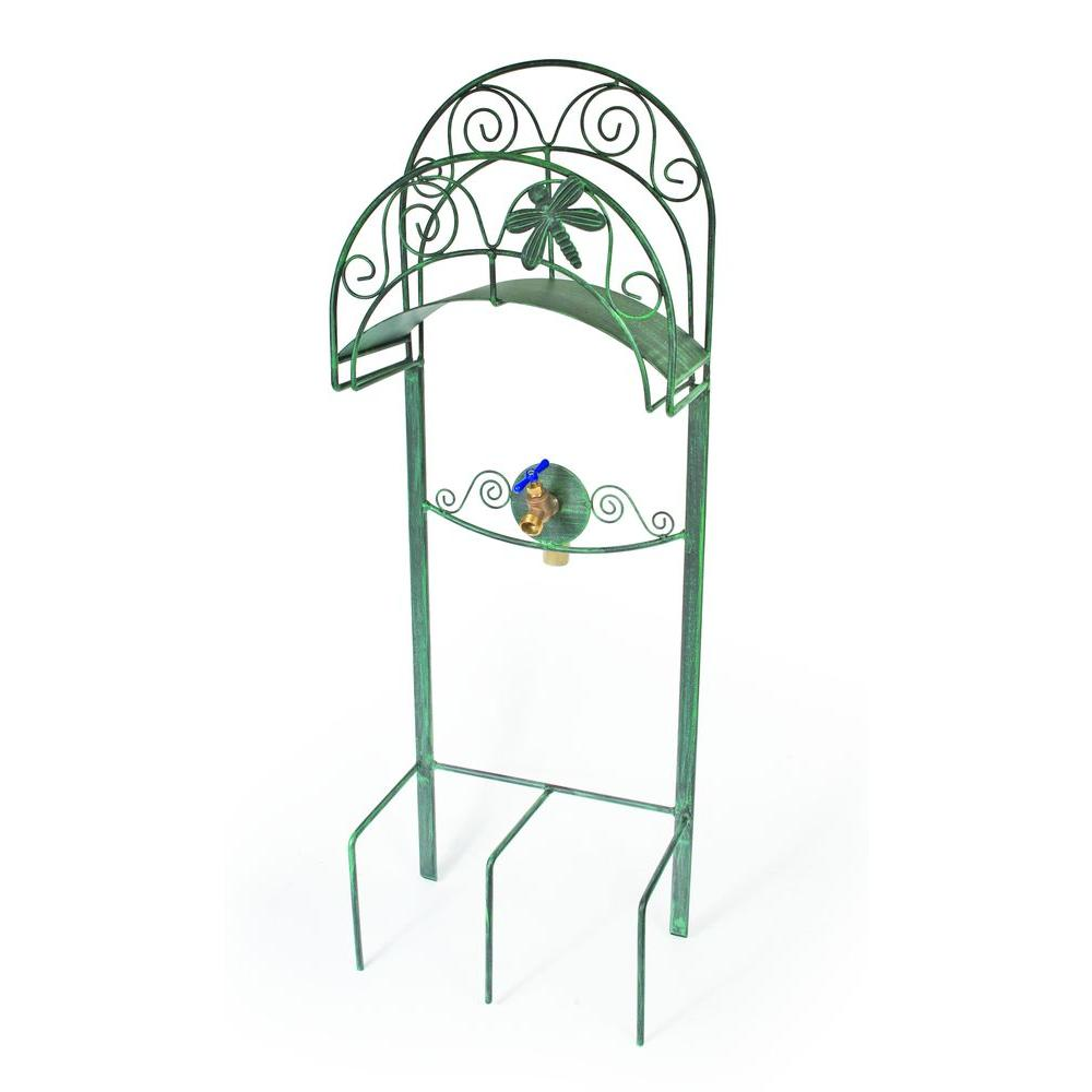 Liberty Garden Dragonfly Hose Stand 642 The Home Depot