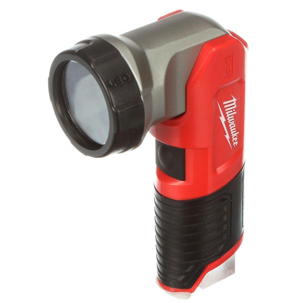Milwaukee M12 12-Volt Lithium-Ion Cordless 160 Lumen LED Work Flashlight (Tool-Only)