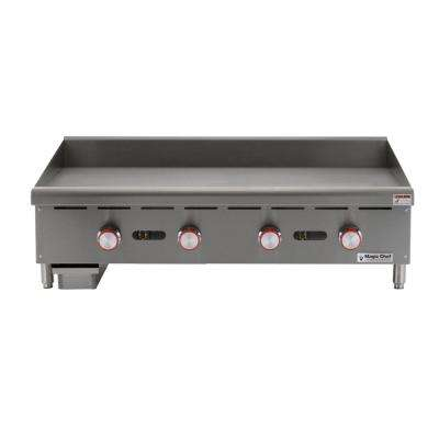 Commercial 48 in. Manual Countertop Griddle