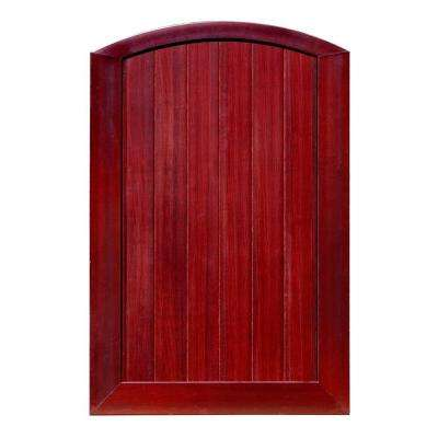 h mahogany vinyl anaheim privacy arched