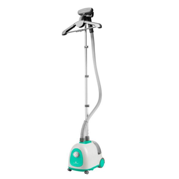 Classic Garment Steamer For Home with an Adjustable Hanger 1.5 l Water Tank Advanced Cool-Touch Hose in Turquoise