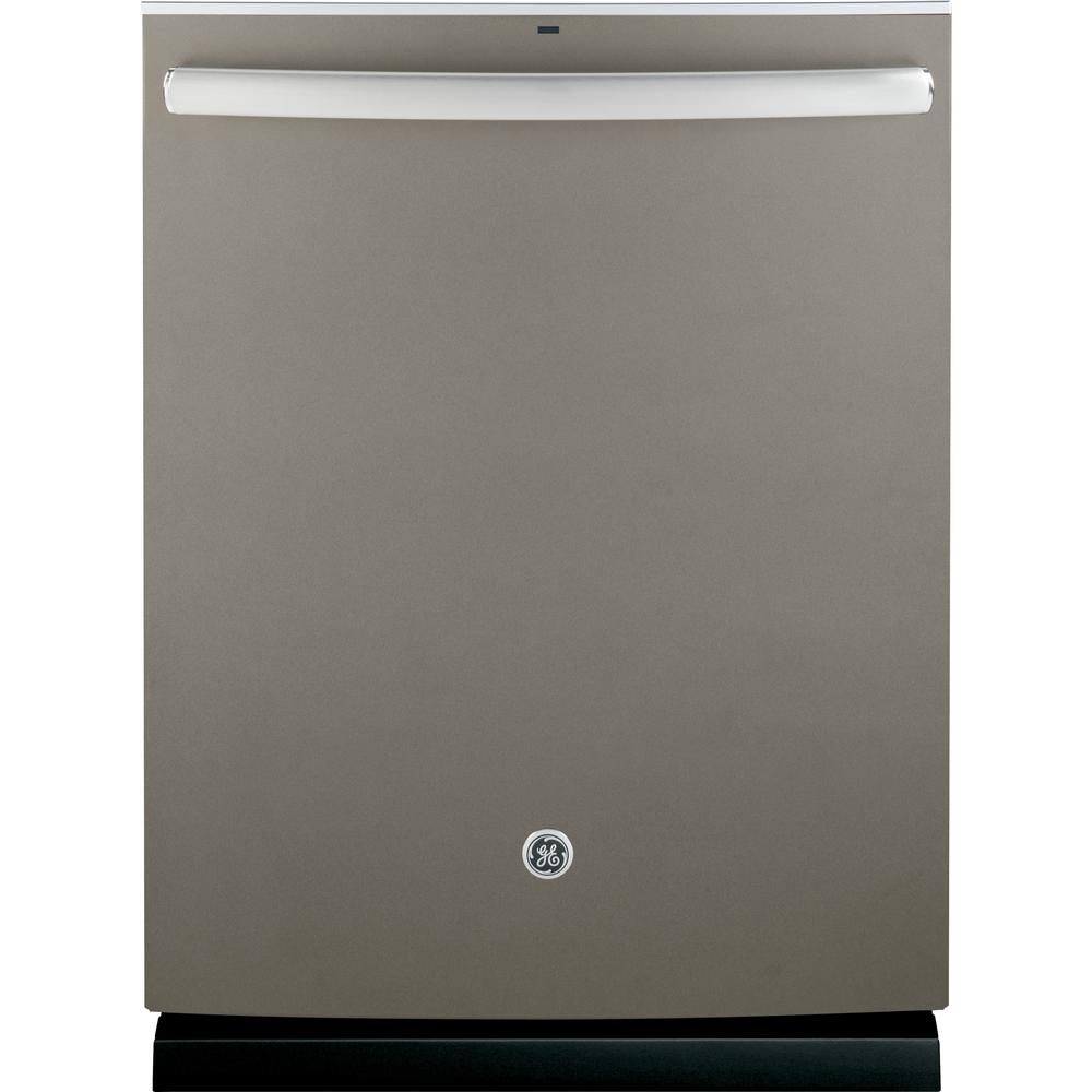 Adora Top Control Built-In Tall Tub Dishwasher in Slate with Stainless