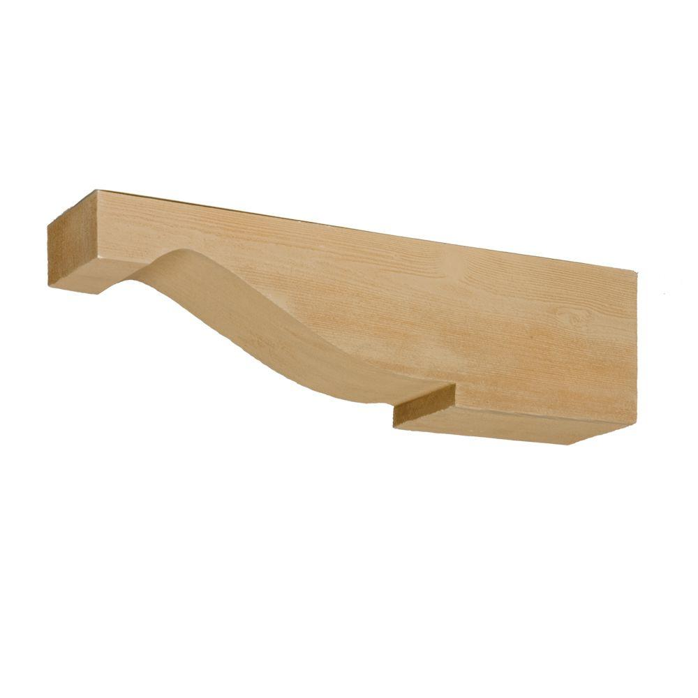 Fypon 5 1 2 In X 24 In X 6 1 2 In Polyurethane Timber Corbel Cor24x6x5s The Home Depot