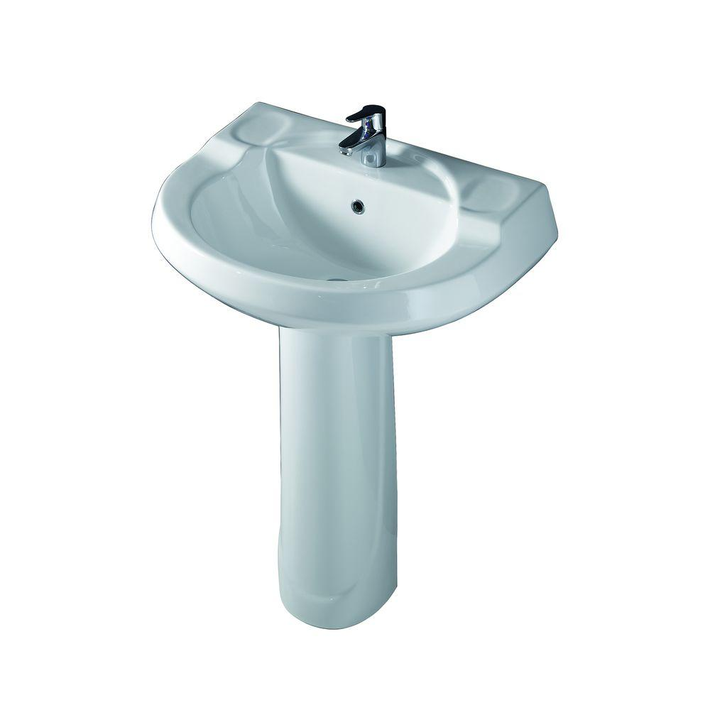 Barclay Products Wynne 705 Pedestal Combo Bathroom Sink In