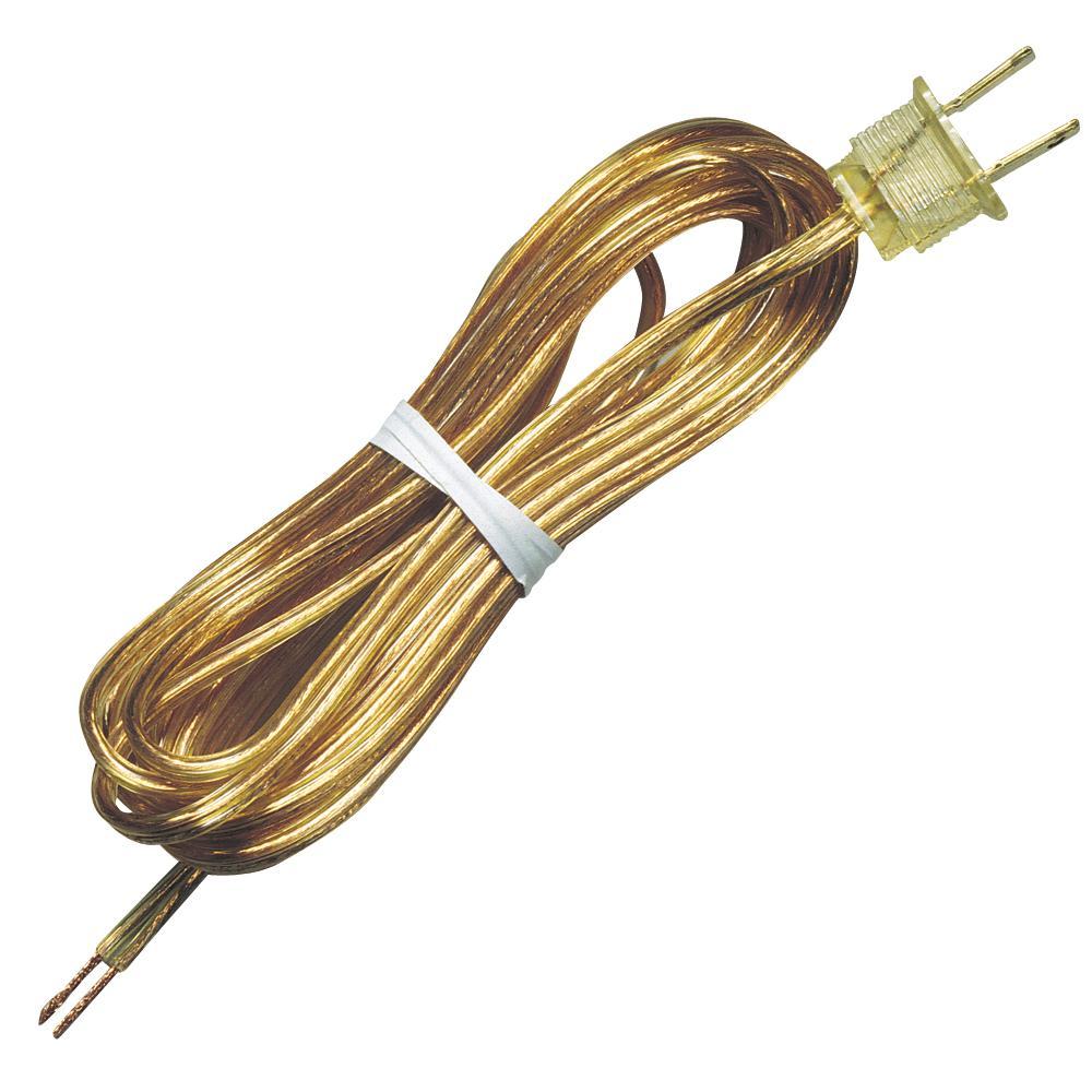 15 ft. Gold Cord and Plug Set