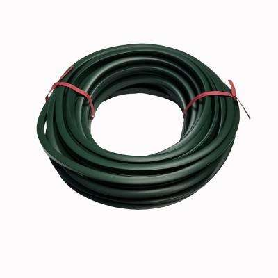 25 ft. x 0.25 in. x 0.25 in. Green Metal Edging Vinyl Trim Cap