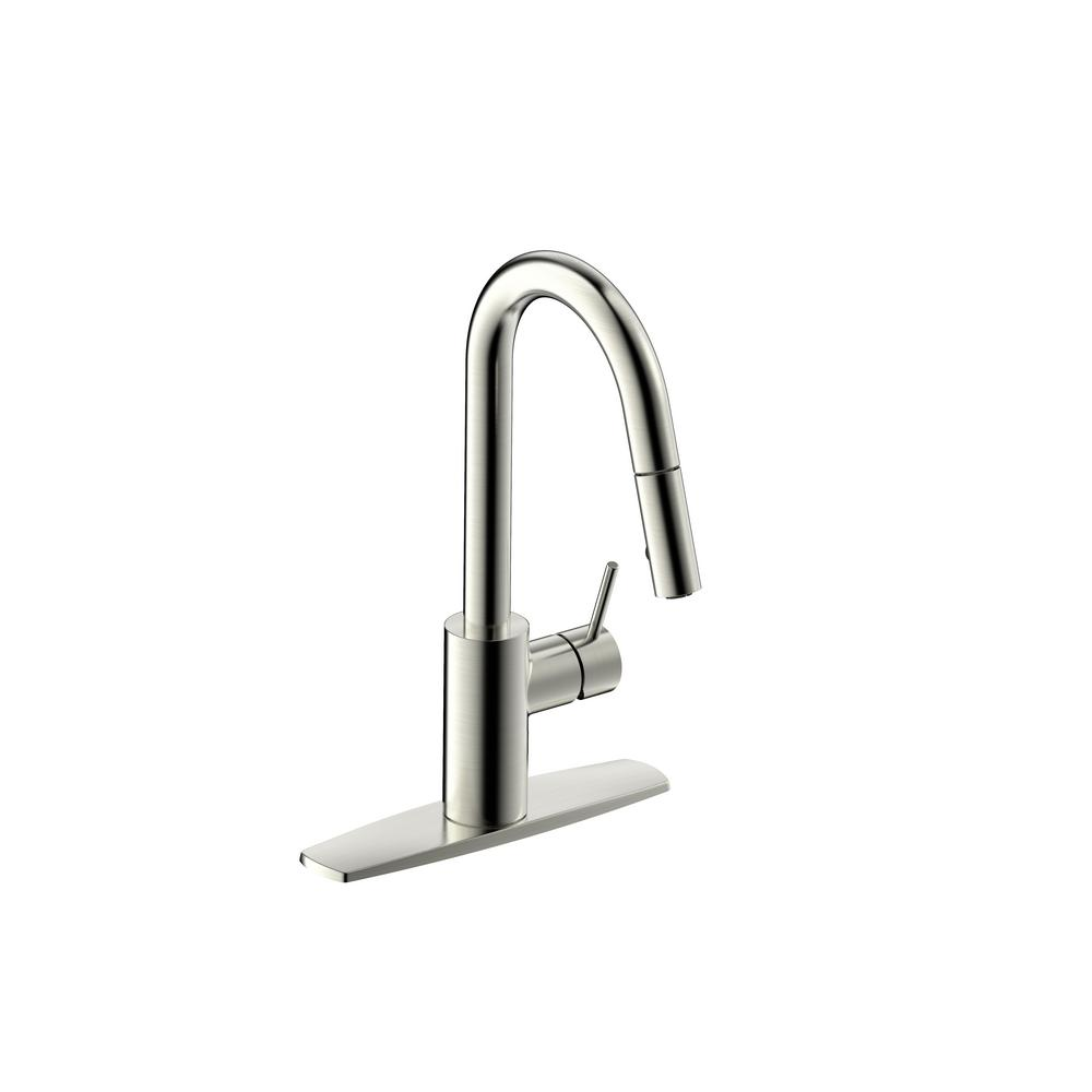 Fontaine by Italia Palais Royal Single Handle 1 or 3 Hole Pull