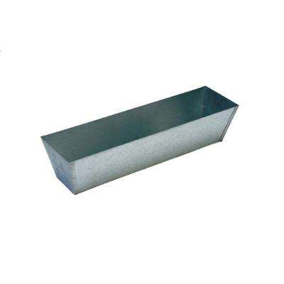 14 in. Galvanized Mud Pan