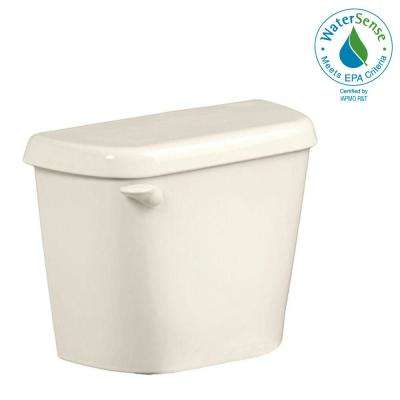 Colony 1.28 GPF Single Flush Toilet Tank Only for 12 in. Rough in Linen