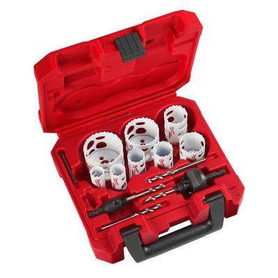 Hole Dozer General Purpose Bi-Metal Hole Saw Set (14-Piece)