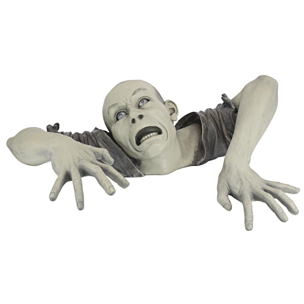 Design Toscano 8 in. H The Zombie of Montclaire Moors Statue