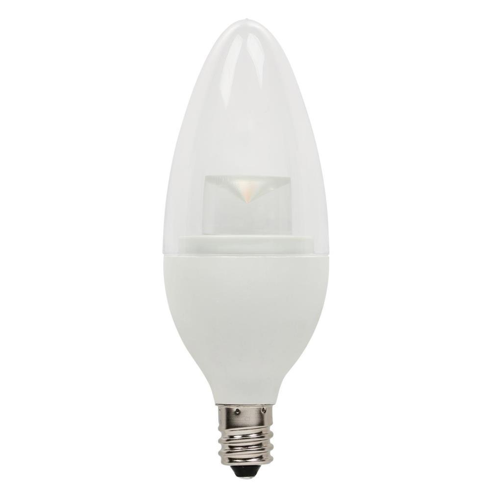 Westinghouse 40W Equivalent Soft White B11 Dimmable LED Light Bulb