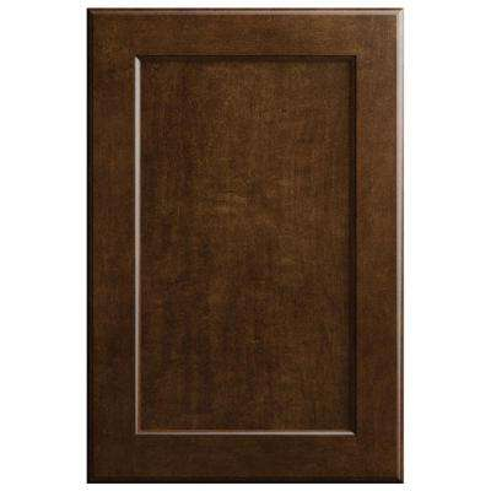 11x15 in. Keary Cabinet Door Sample in Spice Oak