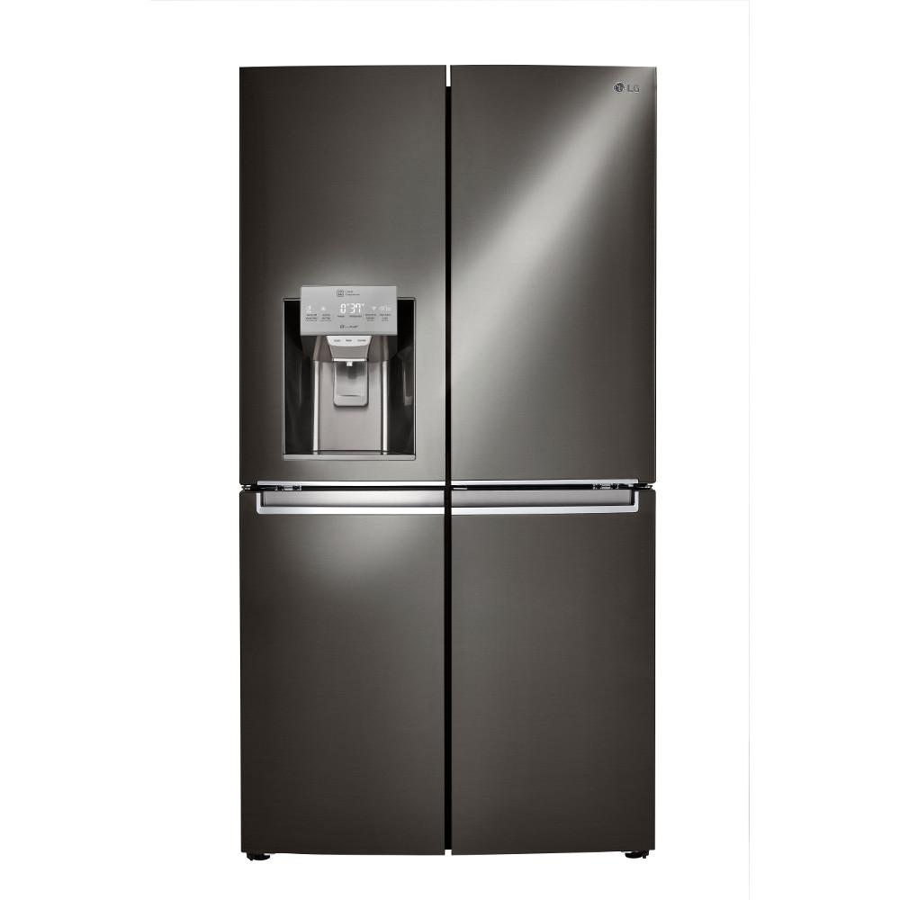 unusual refrigerator lg double door. LG Electronics 30 cu  ft French Door Smart Refrigerator with in