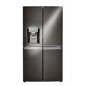 Click here to buy LG Electronics 30 cu. ft. French Door Refrigerator with Door-in-Door in Black Stainless Steel by LG Electronics.