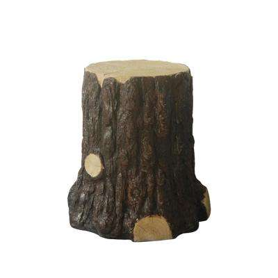 22 in. Tree Stump Statue