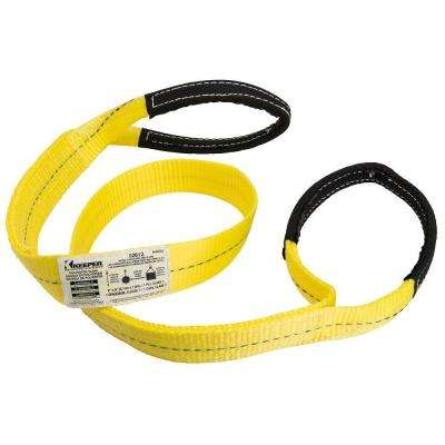 6 ft. x 2 in. 1-Ply Flat Loop Lift Sling
