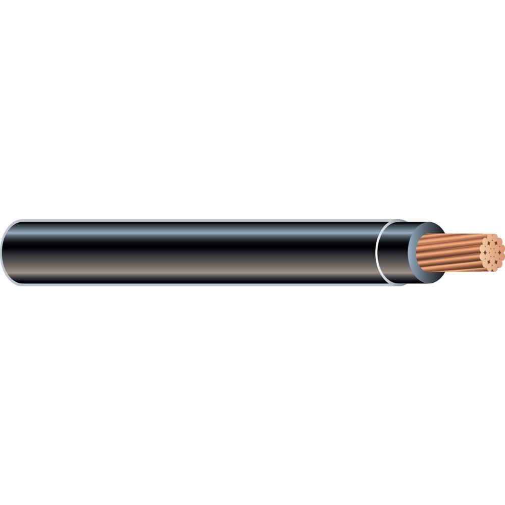 Southwire 500 ft. 4/0 Black Stranded CU SIMpull THHN Wire-20508802 ...