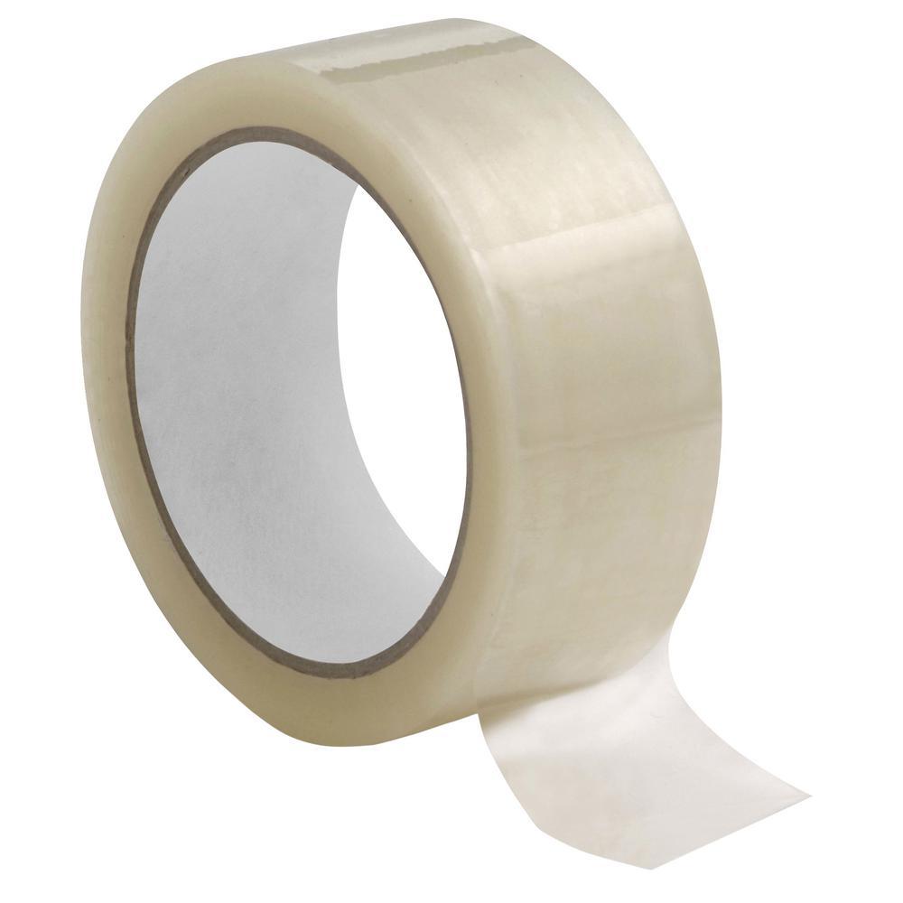 1.6 mm Hot-Melt Sealing Tape 3 in. x 110 yds. Clear (24-Carton)