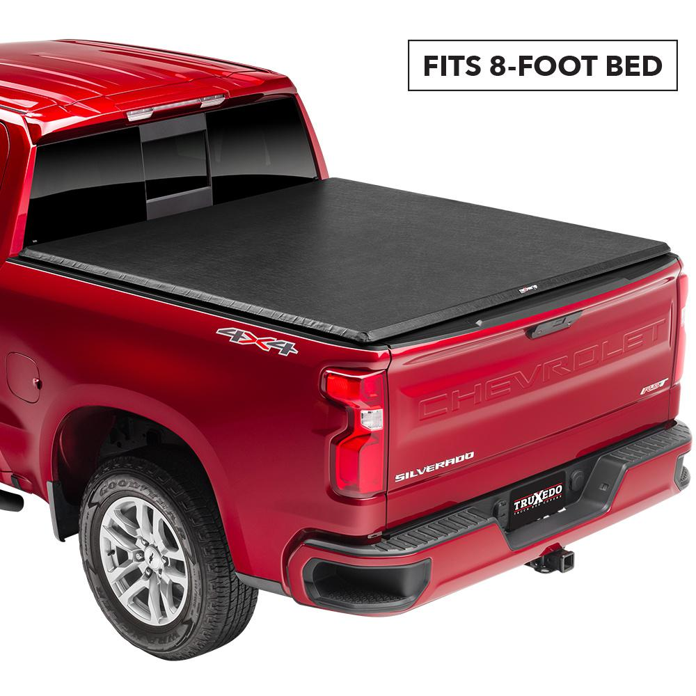 Truxedo Truxport 19 New Body Style Chevy Silverado Gmc Sierra 1500 8 Ft Bed Tonneau Cover 272801 The Home Depot